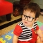 Mustachifier Black UV Glasses Age 0-2 แว่นเนิร์ดเด็กสีดำ thumbnail 3