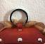 กระเป๋าหนังแท้ ใส่เหรียญ รูปสิงโต สีน้ำตาล สภาพดีมาก!! thumbnail 3