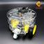 โครงรถ หุ่นยนต์ Smart Car Chassis แบบ 3 ชั้น thumbnail 1