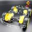 โครงรถ หุ่นยนต์ 4WD สีใส smart car chassis 1 ชั้น thumbnail 1