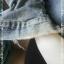 Jeans0007--เสื้อยีนส์มืสอง นำเข้า อก 36 นิ้ว thumbnail 6