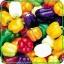 พริกหวานยักษ์ หลากสี ( มี 5สี ) sweet pepper / 20 เมล็ด