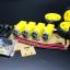 โครงรถ หุ่นยนต์ 4WD สีใส smart car chassis 1 ชั้น thumbnail 9