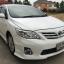 ฟรีดาวน์ ผ่อน 7187x72งวด Toyota altis 1.6 G รุ่นท๊อป สีขาว airbag Abs thumbnail 1