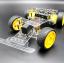 โครงหุ่นยนต์รถ 4 ล้อ ระบบเลี้ยว servo thumbnail 1