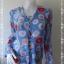 jp4282-เสื้อแฟชั่น ชีฟองโพลี นำเข้าญี่ปุ่น สีฟ้า SEULE 21 อก 36 นิ้ว thumbnail 1