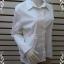 BN4650++เสื้อเชิ้ต แบรนด์เนม สีขาว Charlatte Russe อก 40-41 นิ้ว thumbnail 3
