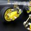 โครงหุ่นยนต์รถ 4 ล้อ พร้อมโช๊คล้อรถ thumbnail 7