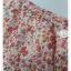 VJP5810-เดรสแฟชั่น ชีฟอง ลายดอกไม้แดง อก 35 นิ้ว thumbnail 6