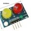 LED Module ไฟแสดงสถานะ 2 ดวง 10mm สีแดง สีเขียว thumbnail 2