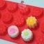 แม่พิมพ์ซิลิโคน สำหรับทำขนม ลายดอกไม้ 3 ชนิด thumbnail 1