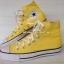 รองเท้า converse หุ้มข้อสีเหลือง thumbnail 1