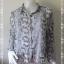 BN4160--เสื้อผ้ามือสอง// เสื้อแฟชั่น ชีฟอง DIVIDCD BY H&M อก free-42 นิ้ว thumbnail 1