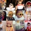Mustachifier Yellow Sunglasses Age 0-2 แว่นกันแดดเด็กสีเหลือง thumbnail 3