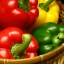 พริกหวานยักษ์ สายพันธ์ุต่างประเทศ Sweet Bell Pepper Seeds / 10 เมล็ด thumbnail 2