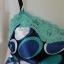 jp4580-เสื้อสายเดี่ยว สี่น้ำเงิน my michelle อก 30 นิ้ว thumbnail 4