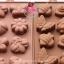 พิมพ์ซิลิโคน ทำขนม รวมลายดอกไม้และแมลง 8 ช่อง แบบที่ 1 thumbnail 2