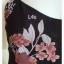 jp5210--เสื้อแฟชั่น สายเดี่ยว สีม่วง อก 32 นิ้ว thumbnail 4