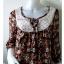 """Dress0365--เดรสแฟชั่น นำเข้า สวยๆ """"อก 34 นิ้ว"""" thumbnail 4"""