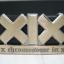 เข็มขัดหนังแท้ XIX (X Chromosome in X) สีดำ สภาพดีมาก thumbnail 2