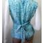 BN2633--เสื้อแฟชั่น silk สีฟ้า แบรนด์เนม ANN TAYLOR อก 34 - 36 นิ้ว thumbnail 3