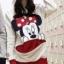 เสื้อกันหนาว สีขาว สกรีนรูปมิกกี้เม้าส์ มีฮู้ดๆมีหู (สกรีนหลัง Mickey Mouse) thumbnail 2