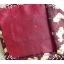 neck0032-เนคไทแบรนด์มือสอง Ermenegildo Zegna สีเลือดหมู ลายสุนัข thumbnail 4