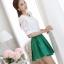 [พร้อมส่ง]เสื้อสตรีสีขาวเนื้อดี ช่วงตัวและแขนเป็นผ้าลูกไม้สวยหวาน ตัดเย็บเรียบร้อยใส่ได้หลายโอกาสค่ะรหัส MN24 thumbnail 7