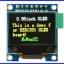 RGB OLED 96x64 Pixels 16-bit Color OLED จอแสดงผล OLED แบบสี RGB ขนาด 0.95 นิ้ว thumbnail 2