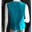 """jp1597-เสื้อ silk นำเข้า สีเขียว DIANE GILMAN """"อก 36 นิ้ว"""" thumbnail 4"""