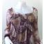 """Dress0471--เดรสแฟชั่น นำเข้า ชีฟอง """"อก 30 - 35 นิ้ว """" thumbnail 4"""