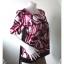 jp1982-เสื้อแฟชั่น สวยๆ สีชมพู byer girl อก 33 นิ้ว thumbnail 2