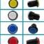สวิทช์พร้อมปุ่มกดขนาดเล็ก ปุ่มกดเกม มีไฟ สีน้ำเงิน ขนาด 33mm thumbnail 3