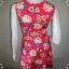 "BNS0252--เดรสแฟชั่น ผ้ายืด ลายดอกไม้ สีสดใส forever21 ""อก 29-33 นิ้ว"" thumbnail 3"