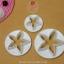 ชุดพิมพ์กดคุกกี้ / ฟองดอง ดอกไม้ 5 กลีบ 3 ขนาด thumbnail 2