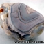 ▽บอสวาน่า อาเกต (Botswana Agate) ขัดมันขนาดพกพา (10g)