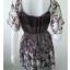"""Dress0638--เดรสแฟชั่น หรือ เสื้อตัวยาว ชีฟอง สวยๆ """"อก 32-34 นิ้ว"""" thumbnail 4"""