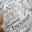 เสื้อสเวตเตอร์ ลายคาถา สีขาว : งานหลุดQC USJ thumbnail 5