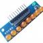 บอร์ดทดลอง LED Module 8ดวง 5mm สีส้ม thumbnail 1