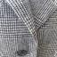 เสื้อสูท มือสอง สีเทาดำ ลายตาราง อก 38 นิ้ว thumbnail 5