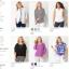 """BN3385--ของใหม่->เสื้อแฟชั่น สวยๆ สีน้ำเงินเข้ม Christopher & bank """"อก 42-44 นิ้ว"""" thumbnail 7"""