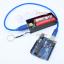 Power Bank แหล่งจ่ายไฟสำหรับ Arduino ESp8266 ชาร์จไฟผ่าน USB ถ่าน 18650 2 ก้อน สีดำ thumbnail 8
