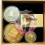 เซตเหรียญกริงกอตส์ พร้อมกล่องกระดาษ thumbnail 1