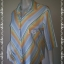 """BN3963--เสื้อผ้ามือสอง-->เสื้อเชิ้ต ลายทาง ESPRIT สีสดใส """"อก 43 นิ้ว"""" thumbnail 2"""