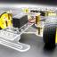 โครงหุ่นยนต์รถ 4 ล้อ ระบบเลี้ยว servo thumbnail 8