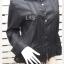 BN4790--เสื้อเชิ้ต แบรนด์เนม สีดำ BANANA REPUBLIC อก40 นิ้ว thumbnail 3