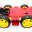 โครงรถ หุ่นยนต์ 4WD สีแดง smart car chassis thumbnail 5