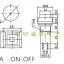 สวิทช์ กดติด กดดับ สีเขียว PBS 12mm 250VAC thumbnail 2