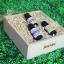 SenOdos ชุดของขวัญ ชุดกิ๊ฟเซ็ท น้ำมันหอมระเหย น้ำมันหอมอโรม่า Floral Fasinate Set Essential Oil 10ml X 3กลิ่น (กลิ่นลาเวนเดอร์ ,กลิ่นเจอร์เรเนียม, กลิ่นกระดังงา) บรรจุในกล่องไม้สน รูปทรงเหลี่ยม สวยงาม คุณภาพดี นำเข้าจากนิวซีแลนด์ thumbnail 1