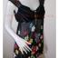 """jp3177-เสื้อแฟชั่น ชีฟอง สีดำ """"อก 32-34 นิ้ว"""" thumbnail 2"""